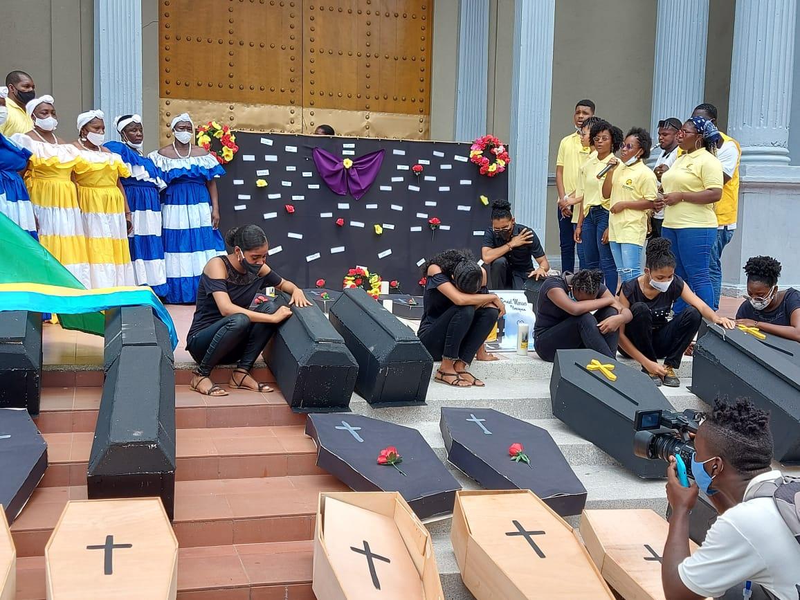 Marcha por la paz en Quibdó