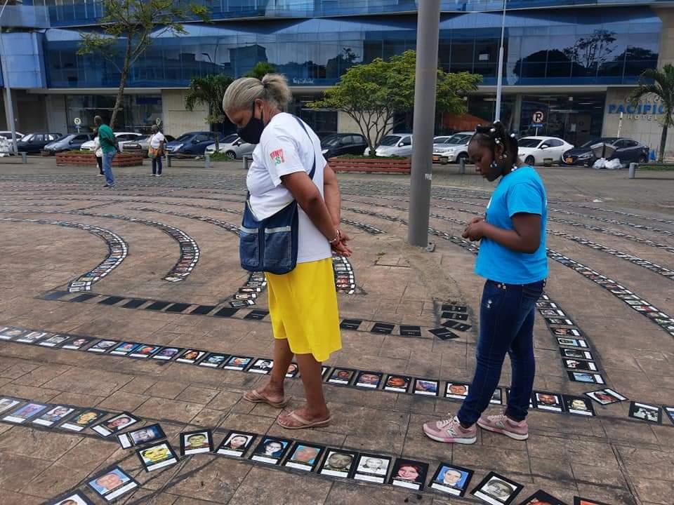 Acto de memoria y dignificación de las personas desaparecidas