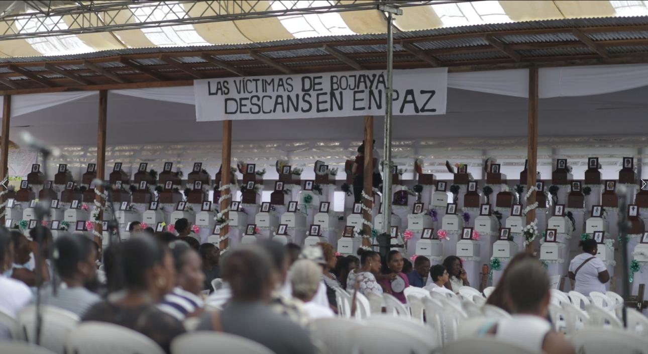 Sancionada Ley 2087 en honor a las víctimas de Bojayá