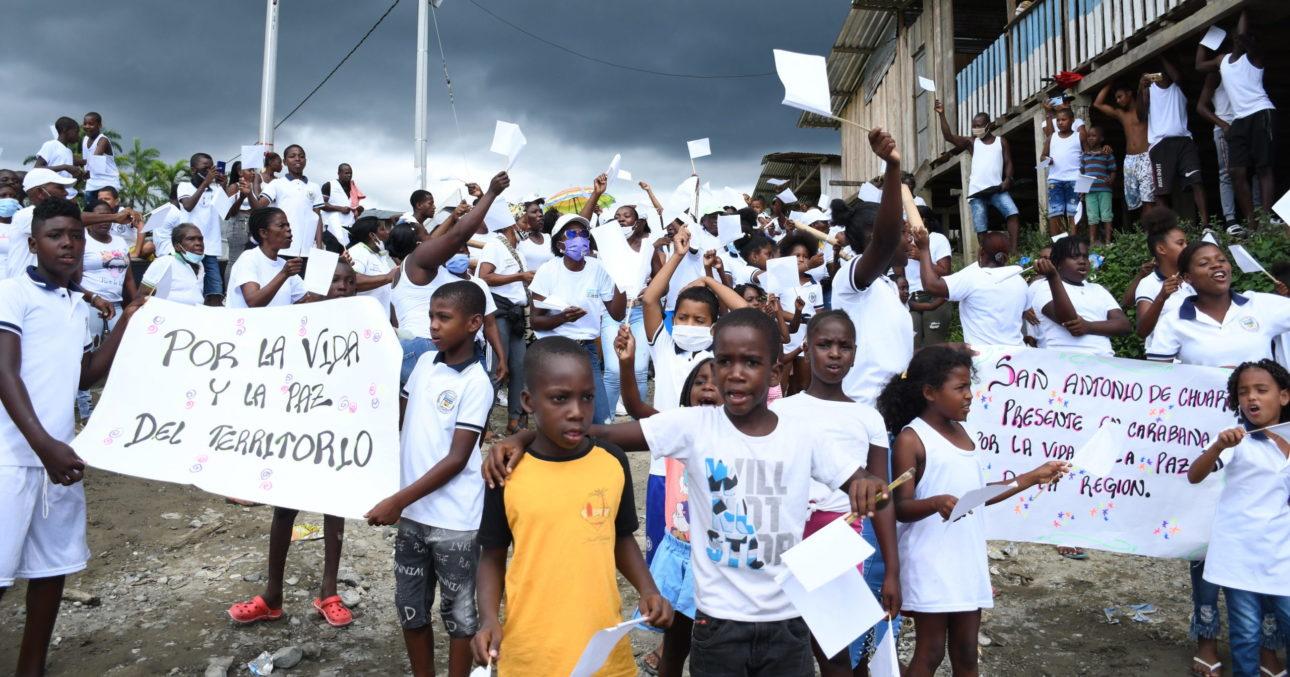 Rechazamos la violencia contra niños, niñas, adolescentes y jóvenes